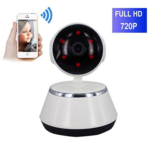 ShengyaoHul Vision Nocturne Infrarouge Caméra Surveillance Ip, 720P HD Indoor Système De Sécurité Ip Home Camera, Suivi De Came Affichage À Distance / Nuage Smart