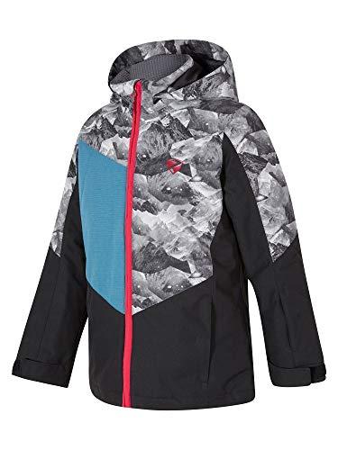 Ziener Jungen Avan jun (Jacket ski) Kinder Skijacke, Winterjacke/Wasserdicht, Winddicht, Warm, Black, 104