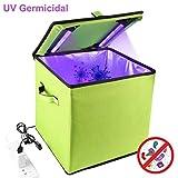 STERJIANGSHOU 30cm Carpa de luz UV germicida Esterilizador Caja de desinfección