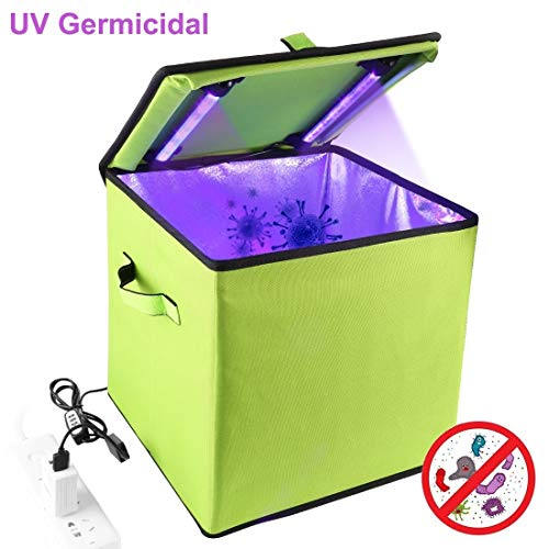XIAODUAN-equipment 30cm UV Light Germicidal Sterilizer Disinfection Tent Box.