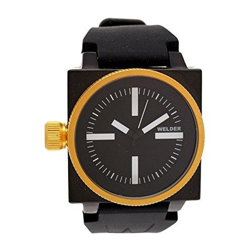 Cofanetto orologio Welder Uomo K-26modello Data nera, dorata e...
