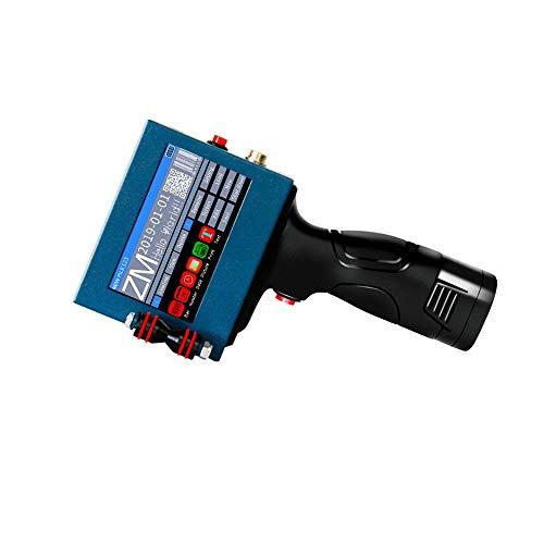 MaquiGra Tragbarer Tintenstrahldrucker Hohe Auflösung mit LED-Anzeige Inkjet-Codiermaschine für Codes Marken Logos Grafiketiketten