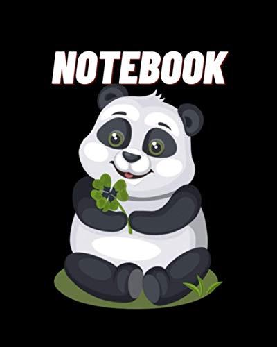 NoteBook: Panda Good luck Panda Panda Notebook. panda gifts for women. panda kids gift. panda gift for girls. panda book. panda bear. book panda birthday pefect size:8x10-120pages