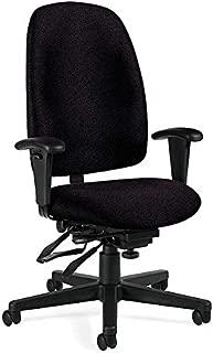 Global Granada Multi-Tilter Fabric High-Back Executive Office Chair