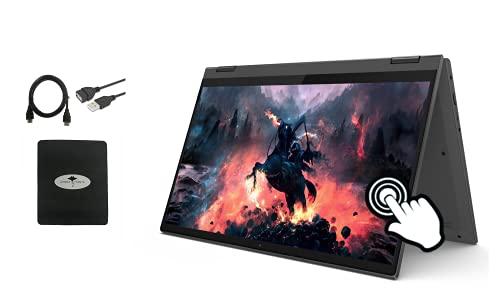 2021 Newest Lenovo IdeaPad Flex 5 14.0' 2-in-1 Laptop, FHD IPS Touchscreen, AMD Ryzen 3 5300U 4-Core (up to 3.80 GHz), 4GB RAM, 256GB NVMe SSD, Fingerprint, Webcam, HDMI, Win10 S w/GM Accessories