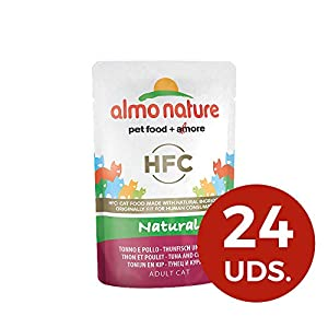 Almo Nature Cat HFC Natural Pollo y Atún 16