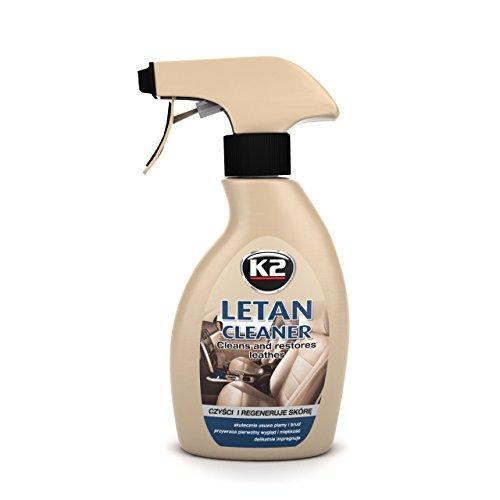 K2–Leder Pflege, Reiniger & Balsam, Sehr gut verarbeitbar, Peak Geruch, Flasche mit Zerstäuber 200ml