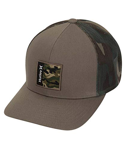 Hurley M Seacliff Hat Gorra, Hombre, Cargo Khaki, 1SIZE