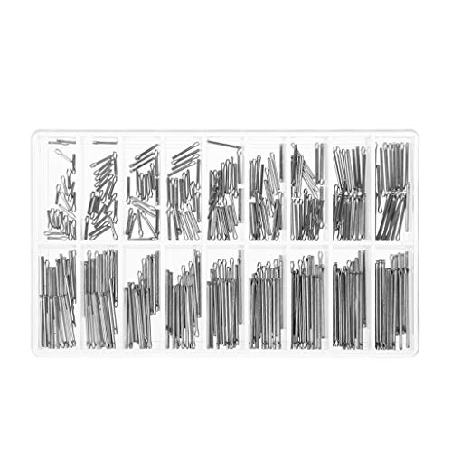 1 Set Uhrenstifte, 1 mm Durchmesser, Edelstahl, Reparaturwerkzeug, Uhrenarmband-Stift, Zubehör, verschiedene Größen, Uhrmacher, professionell, universell