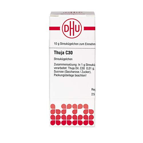 DHU Thuja C30 Streukügelchen, 10 g Globuli