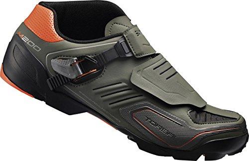 Shimano SHM200C460G Zapatillas de Ciclismo de Carretera, Unisex Adultos, Verde (Green), 46 EU (11.5 UK)