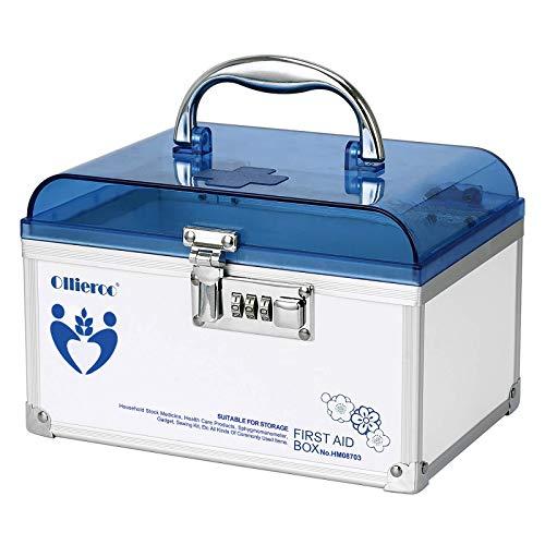 Ollieroo Combination Medication Lock Box
