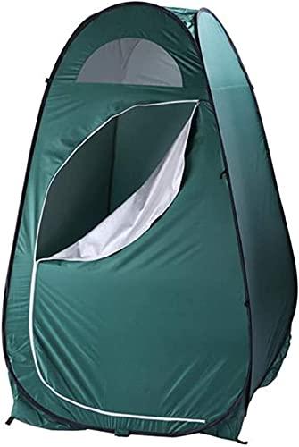 SHWYSHOP Tiendas para acampar al aire libre de la ducha de la privacidad portátil ducha inodoro función camping al aire libre Vestidor tienda cambio diez