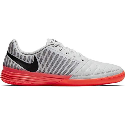 Nike Lunargato II, Scarpe da Calcio Uomo, Bianco (Platinum Tint/Black/Bright CRI 103), 45 EU