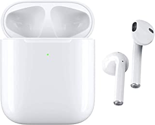 【2020第二世代Bluetooth5.0ワイヤレスイヤホン 革新的 瞬時接続】Bluetoothイヤホン 蓋を開けたら接続 ブルートゥースイヤホン ノイズリダクションヘッドホン IP6完全防水 Siri対応 AAC対応 完全ワイヤレスイヤホン...