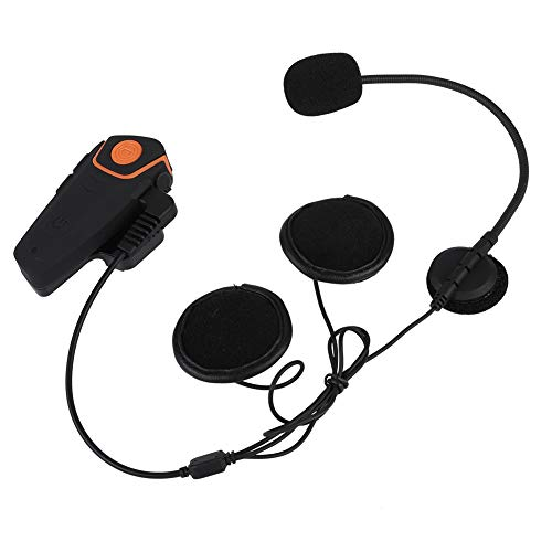 Germerse Casco Bluetooth Auriculares Casco Bluetooth Auriculares Conmutación por Voz para MP3 Pad Teléfono móvil(British regulatory)