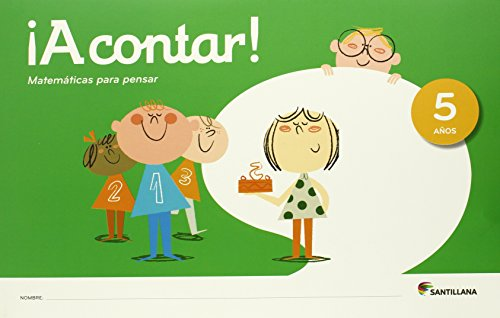 ¡A CONTAR ! MATEMATICAS PARA PENSAR 5 AÑOS - 9788468029382