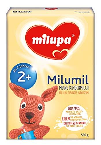 Milupa Milumil Meine Kindermilch 2+ ab 2 Jahr, 1er Pack (1 x 550 g)