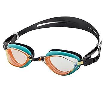 Barracuda Fenix Mirror Swim Goggle for Adults  72710  GRN