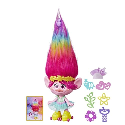 Trolls Hasbro E1471105 - Poppy Peine, mehrfarbig
