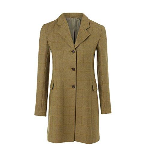 HIDEPARK York 115: Women's Green Tweed Coat