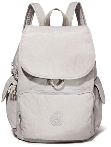 Kipling City Pack Medium Backpack Mochila, 18.5x32x37 cm (LxWxH), Grey Grau