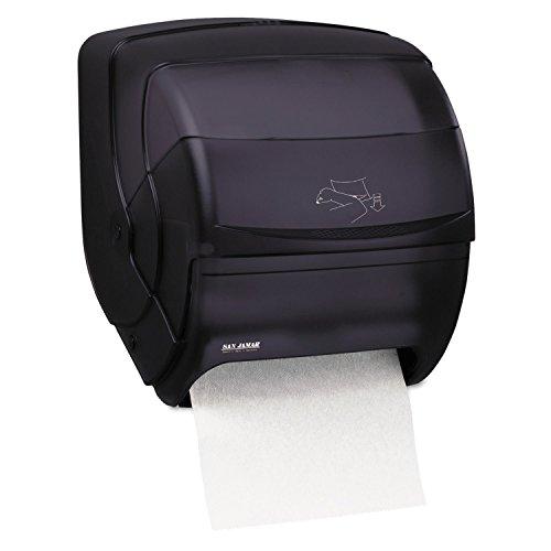 San Jamar T850TBK Integra Lever Roll Towel Dispenser Black Pearl 11 1/2 x 11 1/4 x 13 1/2