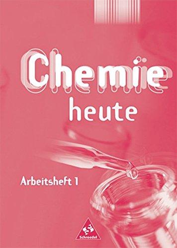 Chemie heute SI - Arbeitshefte Ausgabe 2001: Arbeitsheft 1: Gymnasium. Chemie - Stoffe, Chemische Reaktion, Reaktion von Metallen und Nichtmetallen, ... Chemische Bindungen, Salze - Stoffe aus Ionen