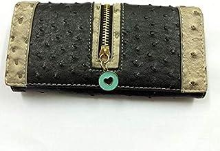Black Leather For Women - Flap Wallets