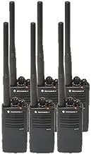 6 Pack of Motorola RDV5100 Two way Radio Walkie Talkies