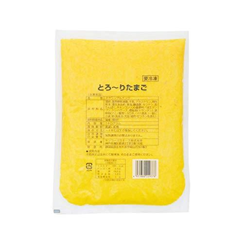 【冷凍】 ケンコーマヨネーズ とろ〜りたまご 1kg 業務用 卵焼き トッピング 洋風 惣菜