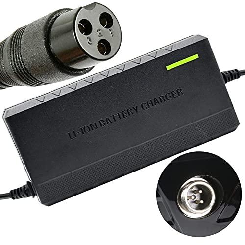 joyvio Cargador Adaptador de batería para Scooter eléctrico para Razor E100 E200 E300 E125 E150 E500