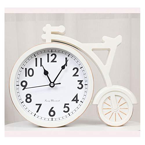 Reloj Sobremesa Adornos de reloj NORDIC PERSONALIDAD DE LA PERSONACIÓN CREATIVA Reloj de la sala de estar de la sala de estar Displayente Reloj de escritorio Reloj de escritorio Dormitorio Reloj silen