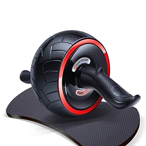 YDHWT Rad-Bauch- und Körperkraft, Bauchtrainer, Übungsrad, Übungsrad for Bauch- und Körpertraining, Schwarz, Servolenkrad und Putter, Sportgeräte for Heim-Fitnessgeräte - unter Verwendung von innovati