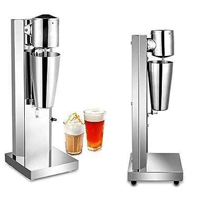 Milkshake Maker Blender - Electric Milk Shake Machine Drink Smoothie Mixer Blender Shaker Stainless Steel Kitchen Tool 650ML 110V