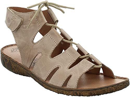Josef Seibel 79539 Rosalie 39 Mujer Sandalia con Tiras,Sandalias Romanas,Sandalias de Gladiador,Zapatos del Verano,cómodas,Creme,39 EU