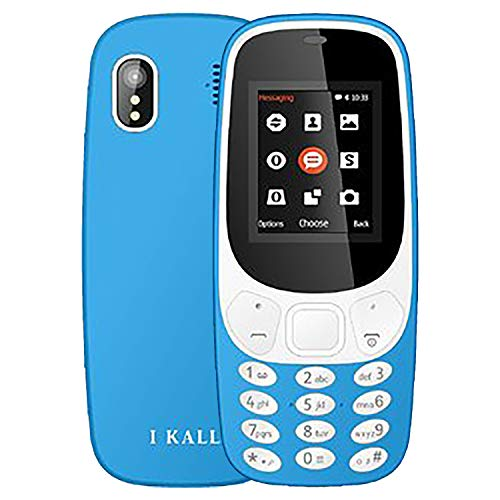 IKALL K3310 Dual SIM, Light Blue