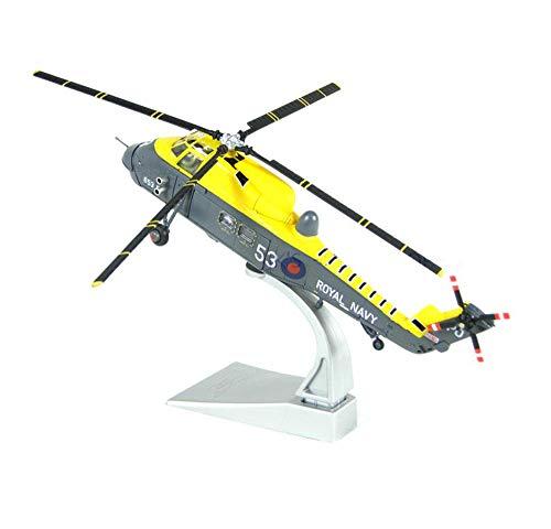 EP-Toy 1/72 Scala Militare Westland Wessex HAS3 Elicottero Modello Lega, Adulto Regalo E da Collezione, 7.5Inch X 8.3Inch