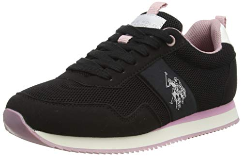 U.S. POLO ASSN. Teva2, Sneaker Donna, Nero (Blk 004), 38 EU