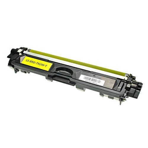 Logic-Seek Toner kompatibel für Brother TN-246Y HL-3142 3152 3172 CW CDW - DCP9017CDW - Yellow 2.200 Seiten