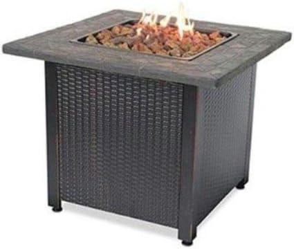 PatioPlus Cheap LP Gas Outdoor Fireplace Dedication