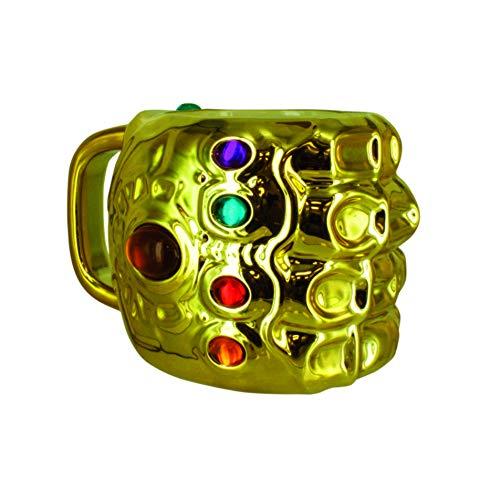Paladone Taza Desayuno Gauntlet Infinity War Los Vengadores, cerámica, Multicolor, 15 x 11 x 10 cm