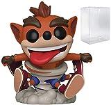 Pop Games: Crash Bandicoot – Whirlwind Crash Bandicoot Pop! Figura de vinilo (incluye funda protectora compatible con Pop Box)