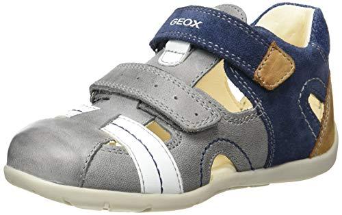 Geox Baby Jungen B KAYTAN A , Grau (Grey/Navy C0665), 21 EU