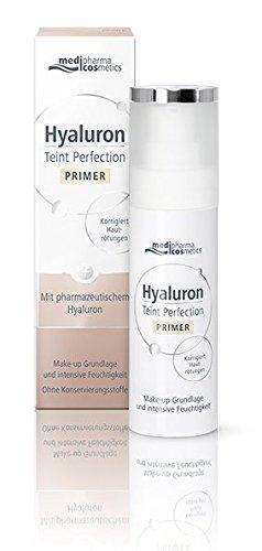 Hyaluron Teint Perfection Primer Make-up Grundlage und intensive Feuchtigkeit. Reduziert Hautrötungen. Für einen makellosen Teint.