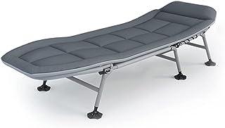 Sponge Confort Pliant Camping Cot □ Lit de la personne célibataire pliable de luxe dans un sac avec un oreiller pour une u...