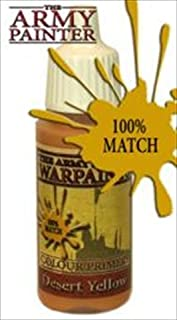 Army Painter WP1121 Warpaints - Desert Yellow, 18 ml by Army Painter