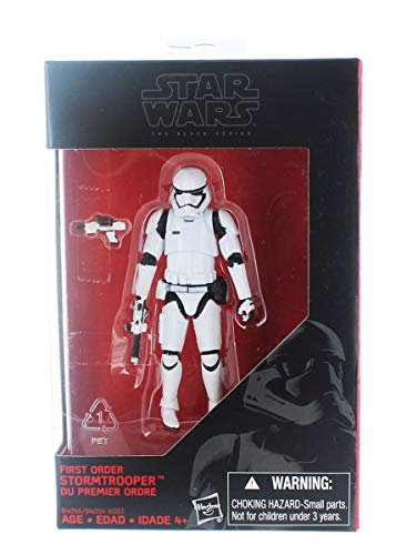 Hasbro Star Wars 2015 die Schwarze Serie erster Ordnung Sturmtruppler (die Kraft erwacht) Exklusive Action-Figur, 3,75 Zoll