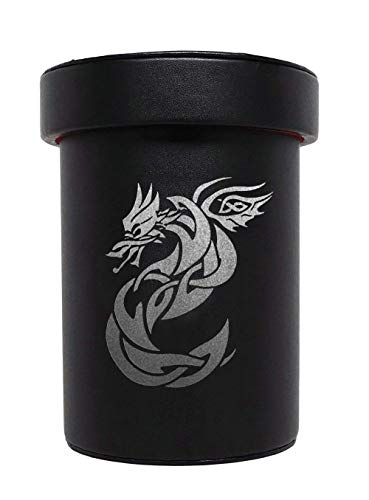 Over Sized Dice Cup - Celtic Knot Dragon Design