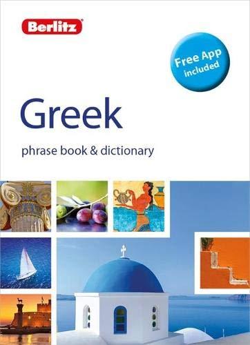 Compare Textbook Prices for Berlitz Phrasebook & Dictionary GreekBilingual dictionary Berlitz Phrasebooks 2 Edition ISBN 9781780045283 by Berlitz